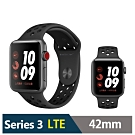 Apple Watch Nike+S3 42mm 鋁金屬錶殼搭運動型錶帶(LTE版)