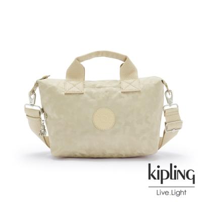 Kipling 奶油鬆餅色簡約手提肩背托特包-KALA MINI