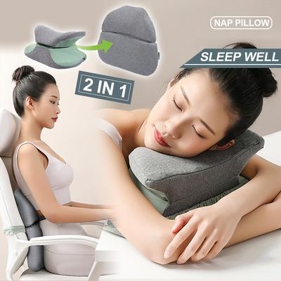 Reddot紅點生活 多功能磁扣變形記憶棉午睡腰靠枕