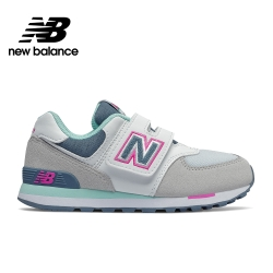 【New Balance】童鞋_中性_淺灰_YV574NLH-W楦