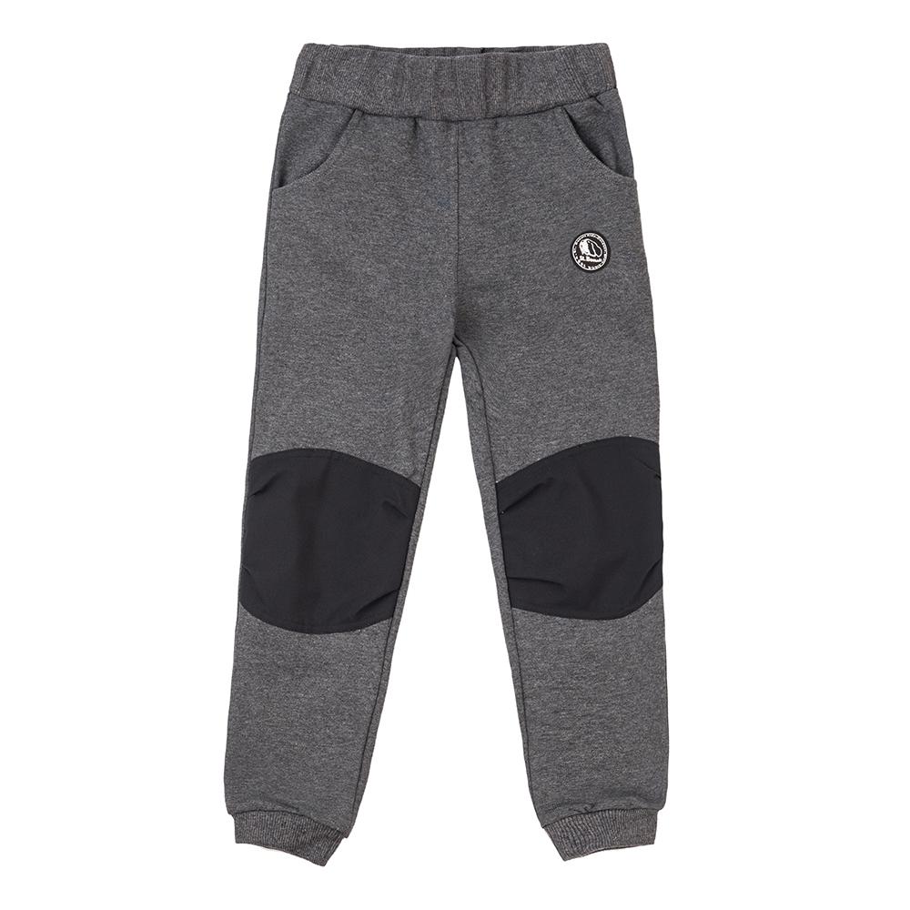 【St. Bonalt 聖伯納】童款針織休閒褲 (8176-深灰) 防風 保暖 舒適