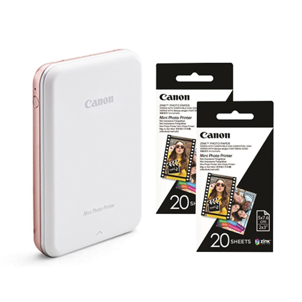Canon PV-123 迷你相片印表機 (公司貨) 贈40張相片貼紙