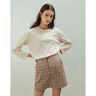 Shester55-鬆緊腰格紋短裙(兩色)-女【VSH018】