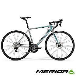 《MERIDA》美利達 女性特仕跑車 斯特拉DISC 400茱麗葉 銀2018
