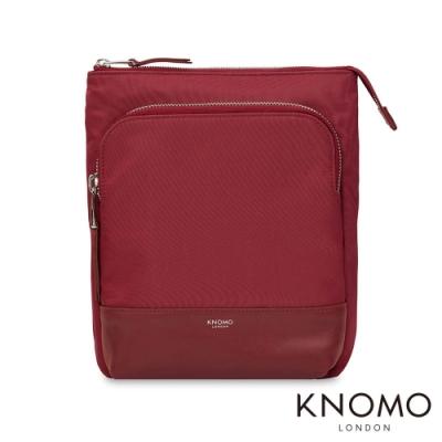 KNOMO 英國 Carrington 輕便斜背包 - 胭脂紅 10 吋