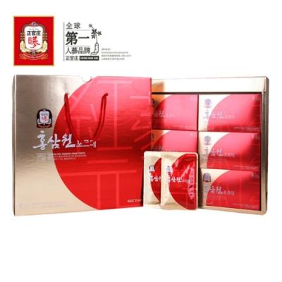 (時時樂)【正官庄】高麗蔘元Forte 禮盒(50mlx30包)/盒