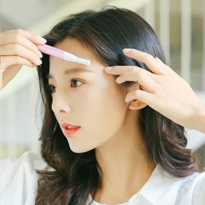 PUSH!居家生活用品 電動修眉刮眉刀 修眉工具化妆美容工具I92