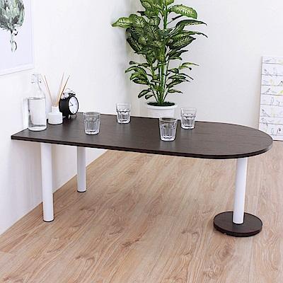 頂堅 蛋頭形和室桌/矮腳桌/餐桌-深60x寬120x高45cm-二色