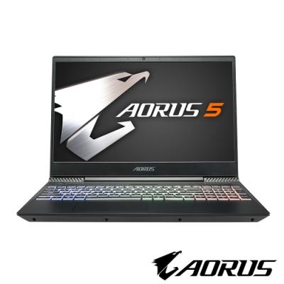 技嘉 AORUS 5 NA 15吋電競筆電(i7-9750H/GTX1650/256G/8G/