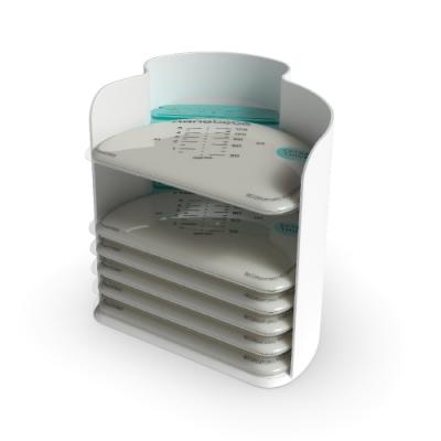 nanobebe 母乳保鮮袋整理架 ( 附母乳袋 25 入 )