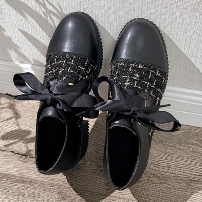 KEITH-WILL時尚鞋館 歐洲站優雅格紋粗跟鞋-黑