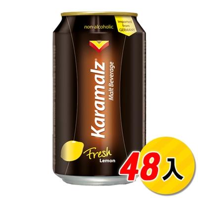 德國進口卡麥隆黑麥汁Karamalz(330mlx48)-檸檬48瓶