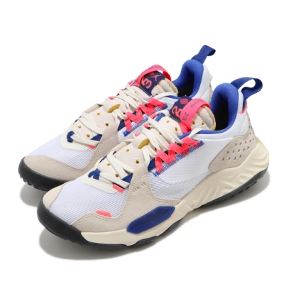 Nike 休閒鞋 Jordan Delta 運動 男鞋 喬丹 舒適 避震 簡約 球鞋 穿搭 米白 藍 DC9202141