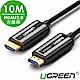 綠聯 HDMI2.0 光纖線 4K發燒級  10M product thumbnail 1