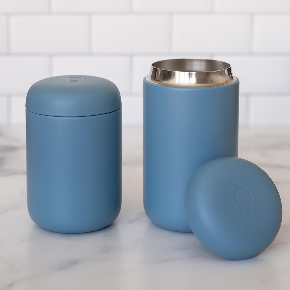 FELLOW Carter卡特陶瓷咖啡真空保溫瓶16oz-理光藍