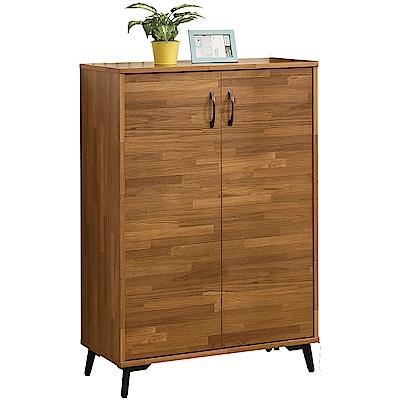 綠活居 福特時尚2.7尺二門鞋櫃/收納櫃-80x40x112cm免組