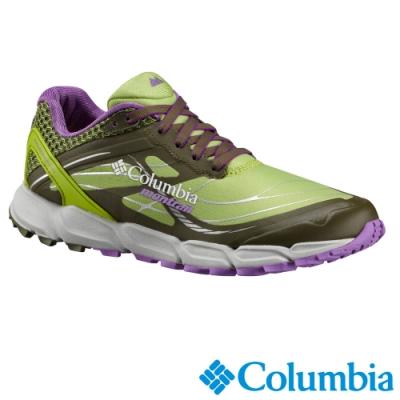 Columbia 哥倫比亞 女款-輕量野跑鞋-綠色 UBL46330GR