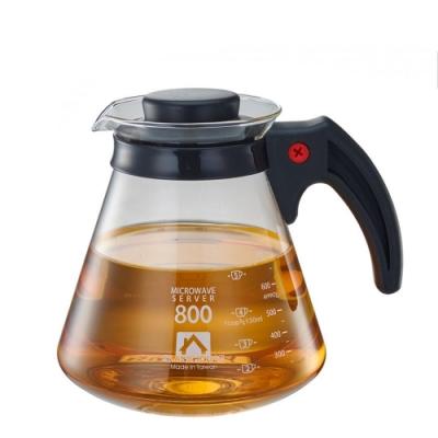 耐熱咖啡壺800ml/塑膠把