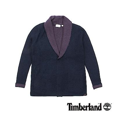 Timberland 女款深藍色Taylors Rvr 毛圈刷毛開襟衫