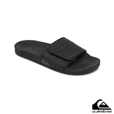 【QUIKSILVER】RIVI SLIDE ADJUST 拖鞋 黑色