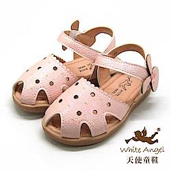 天使童鞋 艾蜜莉兔子涼鞋(小童)i928-粉