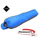 100mountain P-133 輕量 PrimaLoft 化纖保暖睡袋 藍 product thumbnail 1