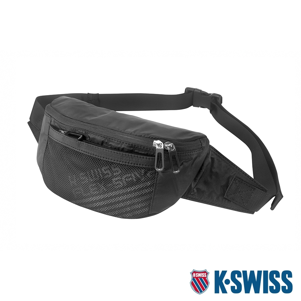 K-SWISS Fanny Waist Pack運動腰包-黑 product image 1
