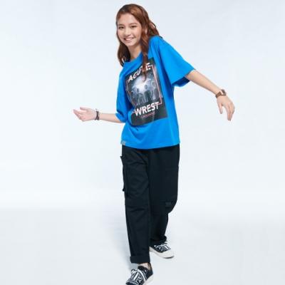 UDOU 星際戰警!Alien短袖T恤(藍)