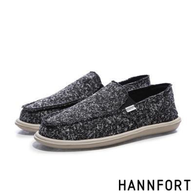 零碼出清 HANNFORT COZY 休閒鞋 男鞋 黑