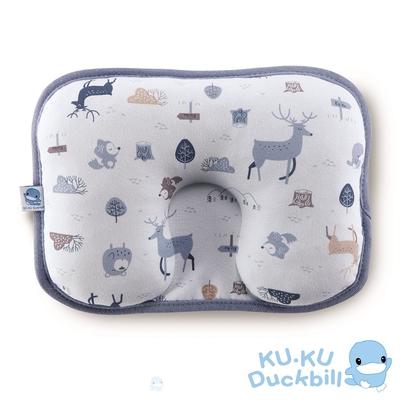 KUKU酷咕鴨 北歐迷境森林護頭枕(藍/粉)