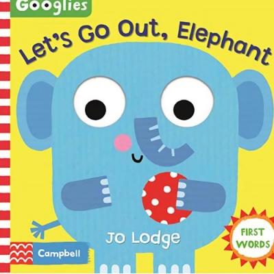 Let s Go Out, Elephant 跟著大象出遊操作書