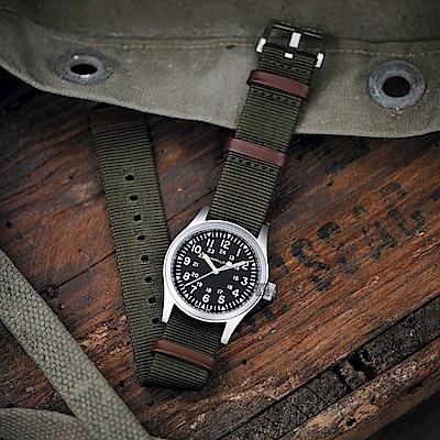 Hamilton 漢米爾頓 KHAKI FIELD 卡其野戰軍風機械錶 H69429931