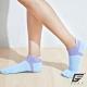 GIAT台灣製立體護跟萊卡船形襪(男女適用)-藍色 product thumbnail 1