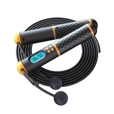 PUSH!運動用品電子智能計數兩用有繩無繩負重跳繩運動健身燃脂跳繩H36