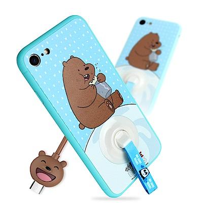 iStyle iPhone 7/8 4.7 熊熊遇見你大大手機殼