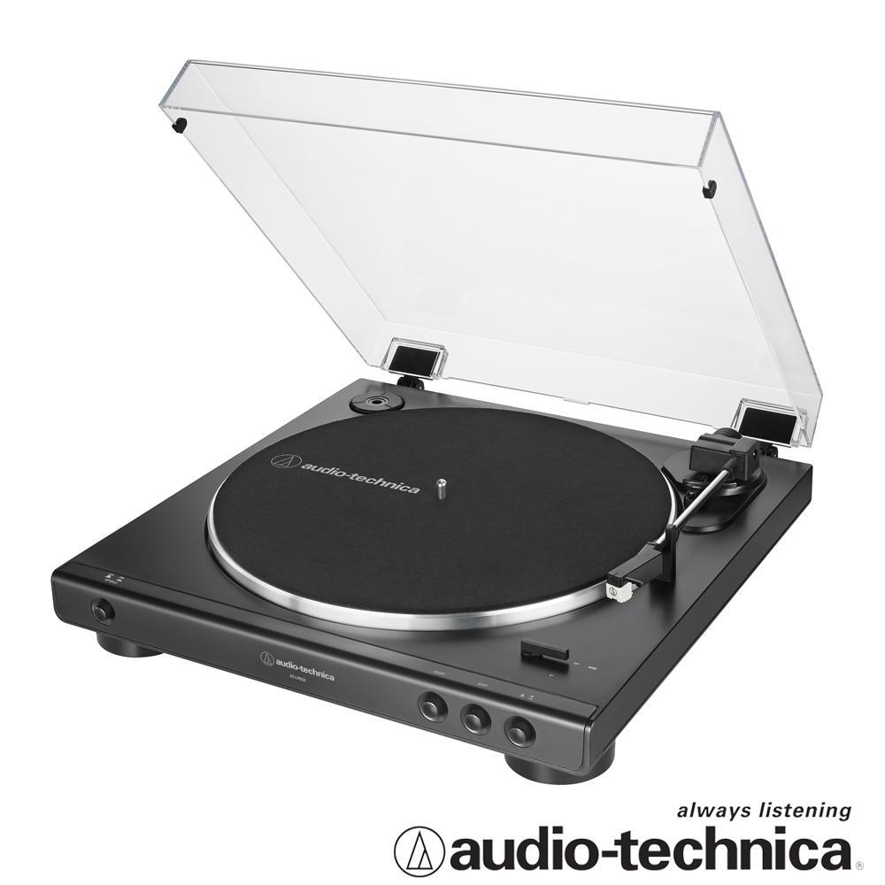 鐵三角 AT-LP60X全自動播放型黑膠唱盤BK