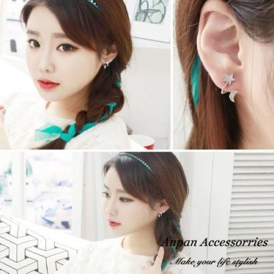 【ANPAN愛扮】韓東大門官網同步星星月亮耳骨式耳環