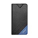 iCase+ iPhone6 Plus 隱形磁扣側翻皮套(黑)