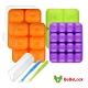 BeBeLock副食品Tok-Tok連裝盒4入+矽膠湯匙乙入 product thumbnail 1