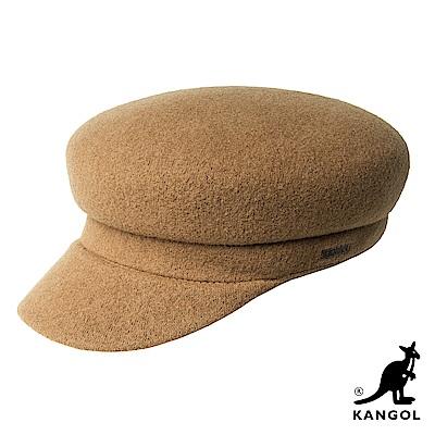 KANGOL蘋果帽-土黃色