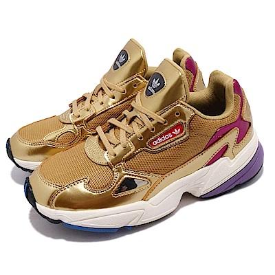 adidas 休閒鞋 Falcon 經典 運動 女鞋