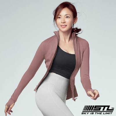 STL Fine Jacket 韓國 運動機能極輕量立領外套 摩登乾燥玫瑰