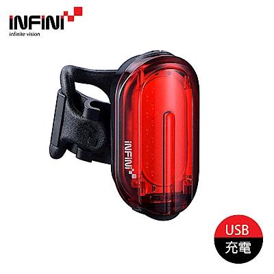 INFINI 超輕量自行車尾燈 I-210R 黑色