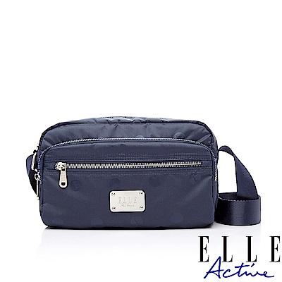 ELLE Active 法式甜心系列-側背包/斜背包-小-深藍色