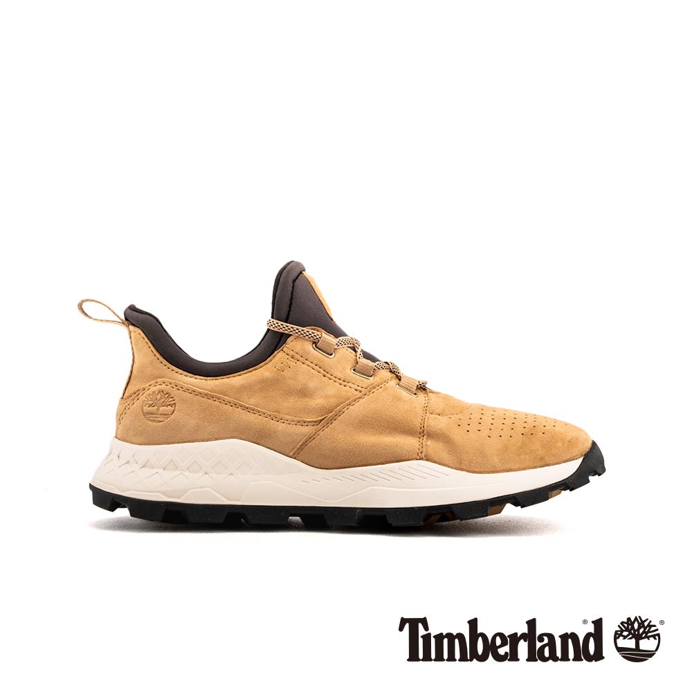 Timberland 男款中駝色Brooklyn OX跑酷鞋 A1YWNK38