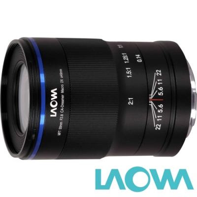 LAOWA 老蛙 50mm F2.8 CA-Dreamer 2:1 Macro 2x for M43 MFT (公司貨) 放大2倍 超微距鏡頭 手動鏡頭