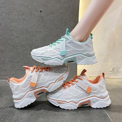 韓國KW美鞋館-小清新可愛魅力老爹鞋(輕量 運動鞋 休閒鞋)(共2色)