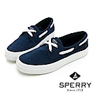 SPERRY CREST BOAT 輕量厚底帆船鞋(女)-深藍
