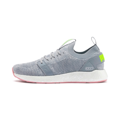 PUMA-NRGY Neko Engineer Knit Wns 女慢跑鞋-灰