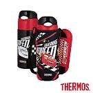 THERMOS膳魔師不鏽鋼真空保冷瓶0.4L(FHL-401FDS-BKC)
